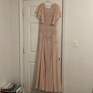 New with Tags Pale Pink gown
